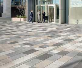 Modal Paving - textured concrete flag paving