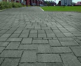 Tegula Priora permeable concrete block paving