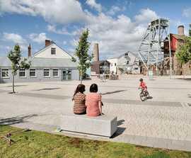 Conservation X Block - concrete granite sett paving