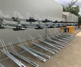ASF Double Stacker cycle rack