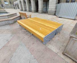 Dundee Cast Iron and Timber Seats