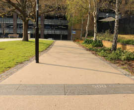 SuDS-compliant surfacing for Southampton city centre