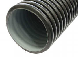 Ridgitrack surface water drainage piping system