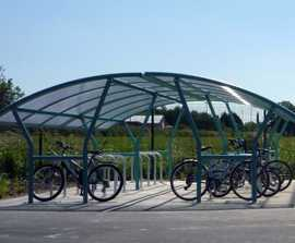 Cycle shelters and racks for Yorkshire academy