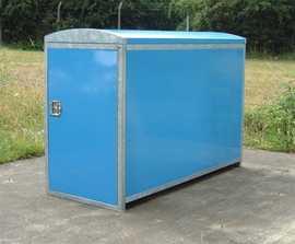VELOPA Clad - secure bicycle locker, 1 bike