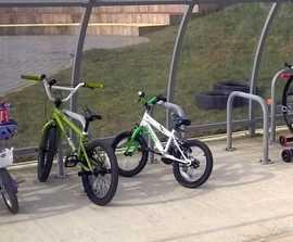 VELOPA Junior Sheffield - kids cycle stand, 2 bikes