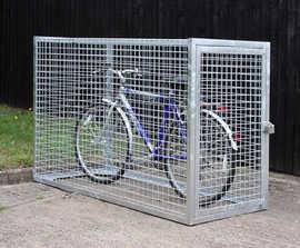VELOPA Mesh - secure bicycle locker, 1 bike