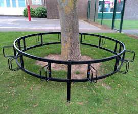 VELOPA circular cycle rack, 12 bikes