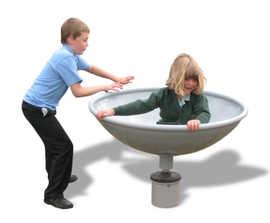 Rota Roka playground spinner for inclusive play