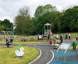 PiPA award-winning inclusive playground - Lake District