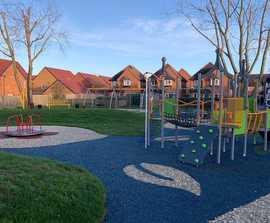Playground area - Snowley Park, Peterborough