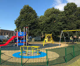 Accessible playground - Canal Way, Reading