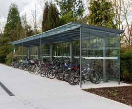 Regio cycle shelter