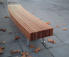 Woody Park Bench