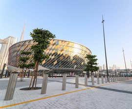 Customised street furniture for Dubai Arena project
