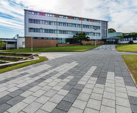 Telford College Redeveloped with Striking New Landscape