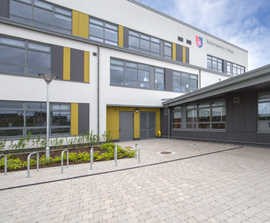 Tobermore SuDS solution employed at Ballymakenny College