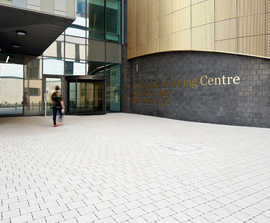 Tobermore SuDS solution specified at £842m new hospital