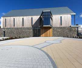 Tobermore Paving Specified at Seamus Heaney HomePlace
