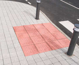 Tactile Hazard Warning paving flags