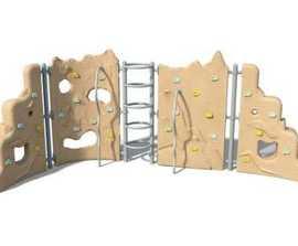 Trojan climbing wall