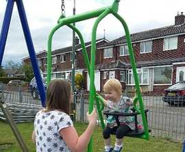 Memory Swing for shared playtimes