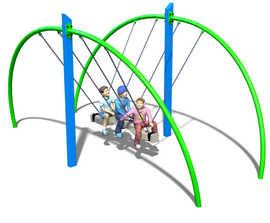 Crusader pendulum rope swing (6040-108)