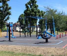 Fitness Legacy Zone outdoor gym equipment range