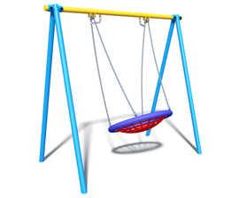 Single bay basket swing