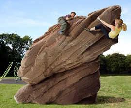 Rockscape Igneous climbing rock