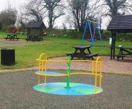Inclusive play park equipment - U.S. Grant Homestead