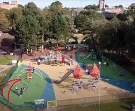 Castle-themed playground - Tamworth Borough Council