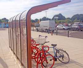 Lincoln cycle shelter