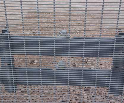 HiSec Super PAS 68 HVM high security fencing