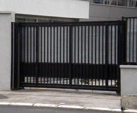 Terror Stopper PAS 68 Cantilever Sliding Gate