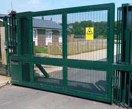 Terror Stopper PAS 68 Hinged Gate