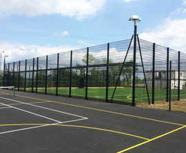 Sports fencing for new-build school's MUGA