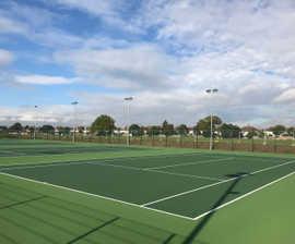 Sports fencing for Gunnersbury Park redevelopment