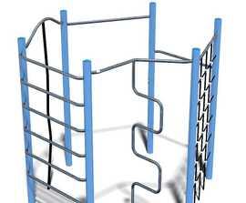 Unique hexagonal climbing unit