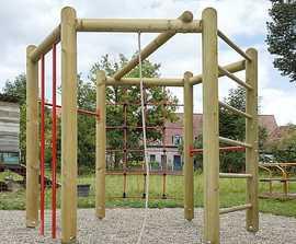 Unique Hexagonal climbing strength unit