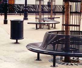 Centerline CL011 contemporary steel tree seat