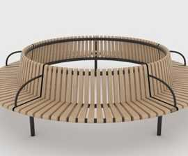 Shoreline tree seat