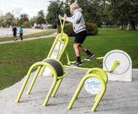 Cross Trainer - outdoor gym equipment
