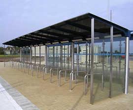 Cambridgeshire cycle shelter