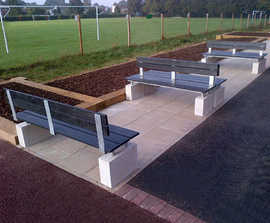 Ormiston Recycled Plastic Seating