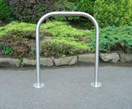 Sheffield Stainless Steel Cycle Stand Surface Mounted