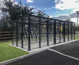 Chichester cycle shelter