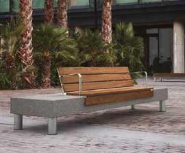 Mago Bloop contemporary bench