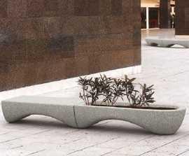 Mago Waves planter / bench