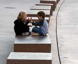 Mago Targa contemporary concrete bench